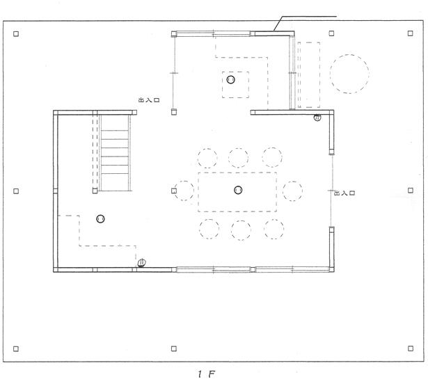 納屋-1F-図面