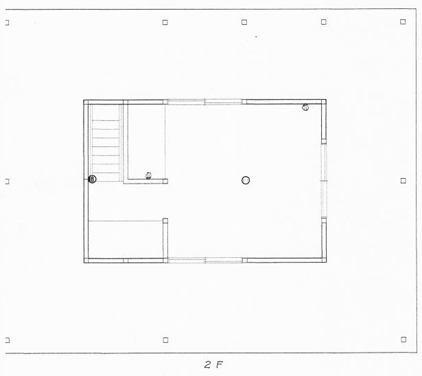 納屋-2F-図面